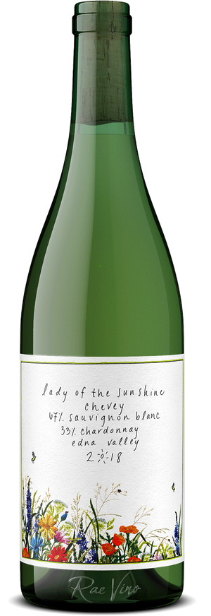Lady of the Sunshine : 'Chevey' : White Blend | 2018