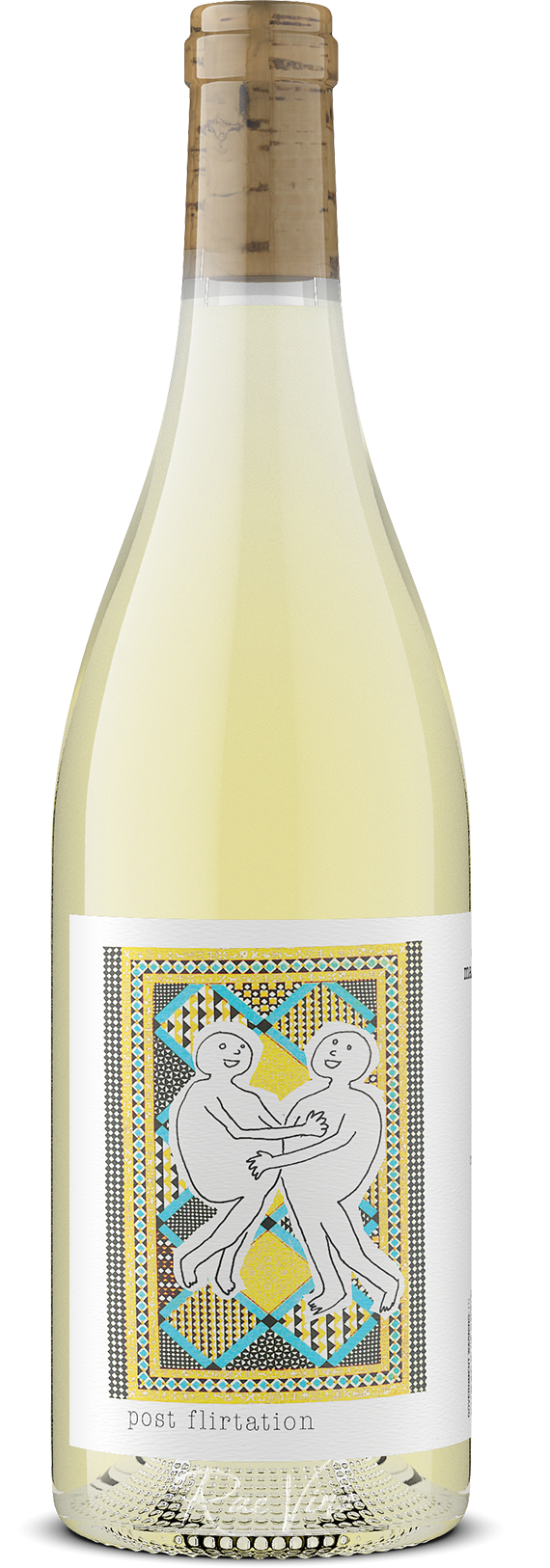Martha Stoumen : 'Post Flirtation' : White Blend | 2018