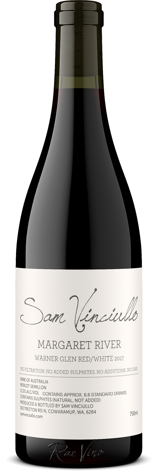 Sam Vinciullo : 'Warner Glen Red/White' : Blend | 2017
