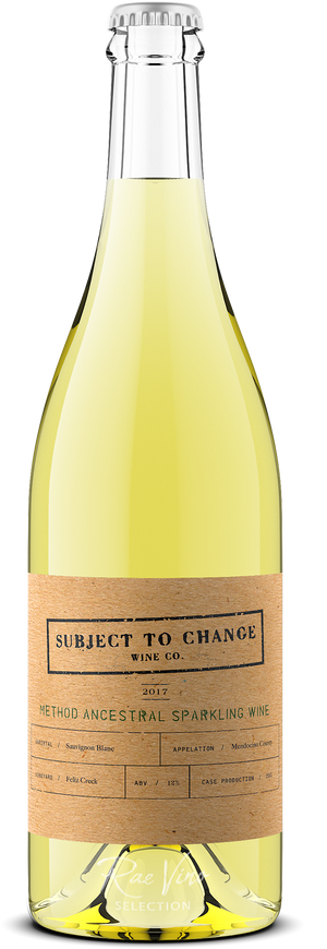 Subject to Change : 'Method Ancestral' Sparkling Wine : Sauvignon Blanc | 2017