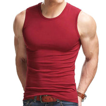 Charger l'image dans la galerie, High Flexibility Men Body Compression Base Layer Sleeveless Summer Vest Thermal Boy Fitness Tights Under Top Tees Tank Tops