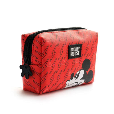 Genuine Mickey Mouse Makeup-Bag, Storage Bag -Red 1928Mickey