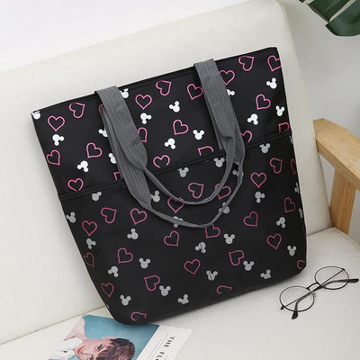 Mickey Mouse Print Large Capacity Tote Bag Handbag 1928Mickey E