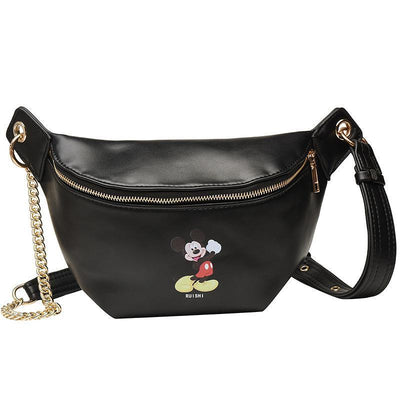 Fashion Mickey Leather Fanny Pack *New Released 1928Mickey
