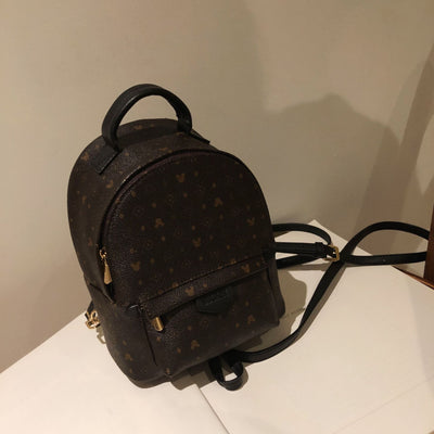Fashion Leather Mickey Backpack Backpack 1928Mickey