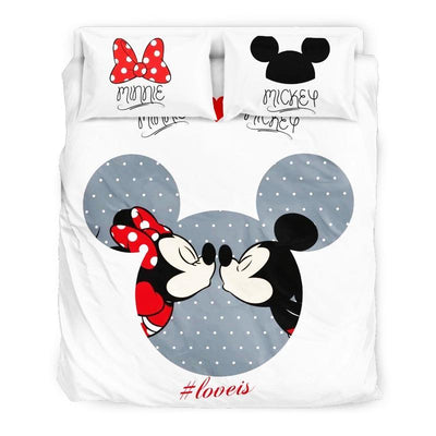 Mickey & Minnie Disney Bedding Set 16 Accessories 1928Mickey