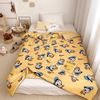 Holiday Daisy Quilt 1928Mickey 60 X 80 INCHES (150 CM X 200 CM) Yellow