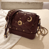 Mickey Mouse Fashion Leather Crossbody Bag Crossbody Bag 1928Mickey Red