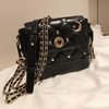 Mickey Mouse Fashion Leather Crossbody Bag Crossbody Bag 1928Mickey Black