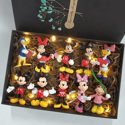 Mickey Mouse Model Set *Limited Edition 1928Mickey C(10 PCS)