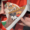 Mickey Mouse Hand Painted Board Shoes 1928Mickey