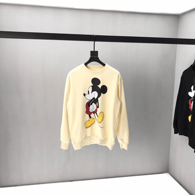 Mickey Mouse Cotton Terry Sweater 1928Mickey S White