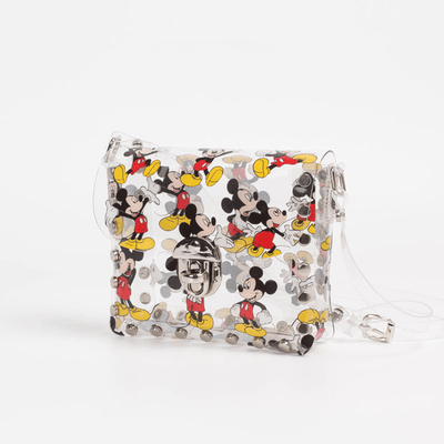 Fashion Mickey Style Transparent Crossbody Bag 1928Mickey