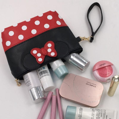 Portable Cute Mouse Waterproof Travel Cosmetic Bags Bag set 1928Mickey