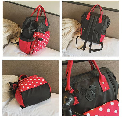 Mickey Minnie Classic Backpack (With Pendant) Backpack 1928Mickey