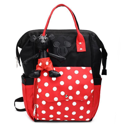 Mickey Minnie Classic Backpack (With Pendant) Backpack 1928Mickey Minnie
