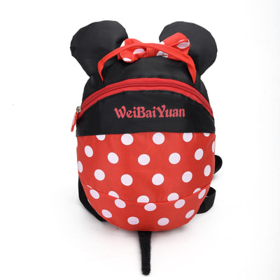 Cute Mickey & Minnie Style Backpack For Kids Backpack 1928Mickey Minnie