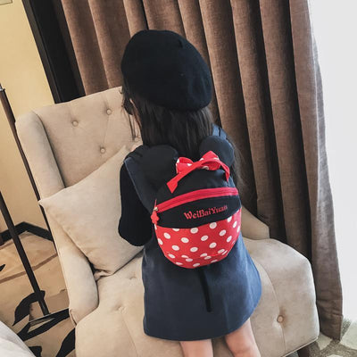 Cute Mickey & Minnie Style Backpack For Kids Backpack 1928Mickey