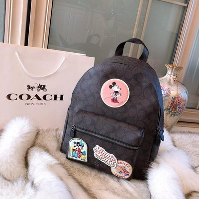 Mickey Style Classic Leather Backpack *Limited Edition - Backpack - 1928Mickey