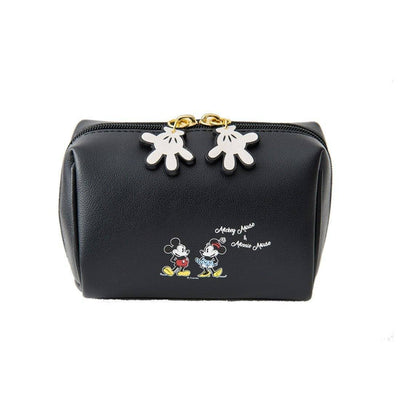 Mickey & Minnie Beauty Travel Multifunction Makeup Bag Handbag 1928Mickey Black