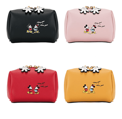 Mickey & Minnie Beauty Travel Multifunction Makeup Bag Handbag 1928Mickey