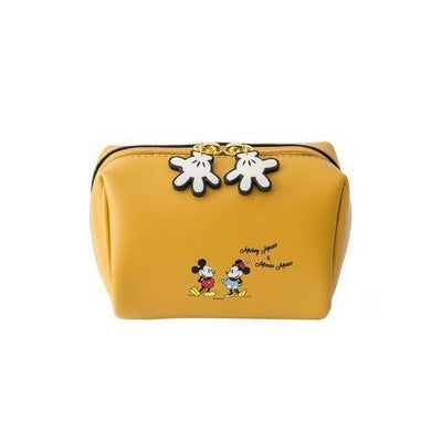 Mickey & Minnie Beauty Travel Multifunction Makeup Bag Handbag 1928Mickey Yellow