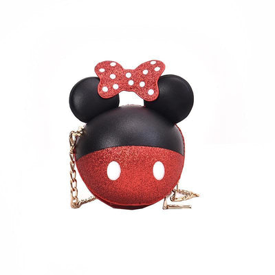 Cute Minnie CrossBody Bag (3 Colors Options) Crossbody Bag 1928Mickey Red