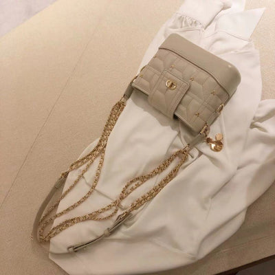 Mickey Mouse Leather Crossbody Bag 1928Mickey White