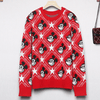 Mickey Mouse Pentagram High Quality Sweater Clothing 1928Mickey S Red