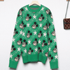 Mickey Mouse Pentagram High Quality Sweater Clothing 1928Mickey S Green