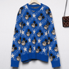 Mickey Mouse Pentagram High Quality Sweater Clothing 1928Mickey S Blue