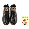 Mickey & Minnie mouse cute leather shoes 1928Mickey