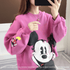 Fashion Mickey Mouse Cotton Chothes 1928Mickey Pink Free Size