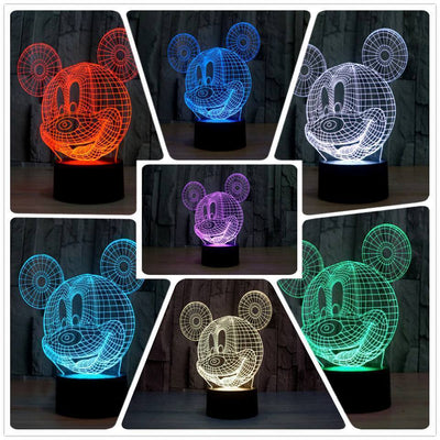 Mickey Mouse 3D LED Lamp Accessories 1928Mickey Default