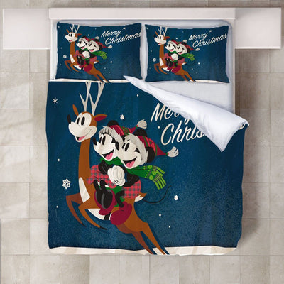 Mickey & Minnie Mouse Bedding Set 21 Accessories 1928Mickey Twin A