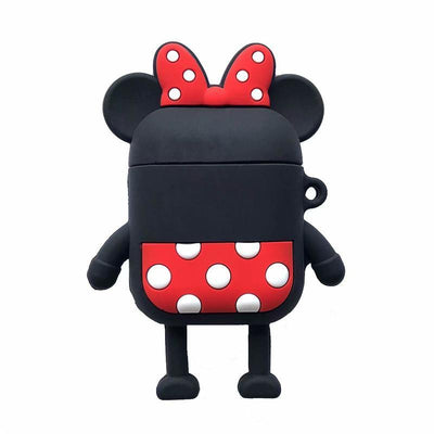 Mickey and Minnie Airpods Case Protective Silicone Cover 1928Mickey Minnie