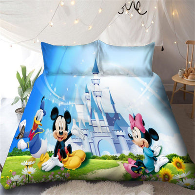 Mickey & Minnie Disney Bedding Set 23 Bedding Set 1928Mickey Twin C