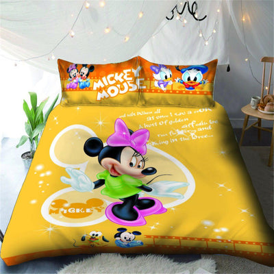 Mickey & Minnie Disney Bedding Set 23 Bedding Set 1928Mickey Twin F