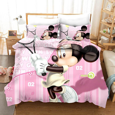 Mickey & Minnie Bedding Set 26 Accessories 1928Mickey Twin F