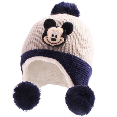 Minnie Mouse Knit Hat - Accessories - 1928Mickey