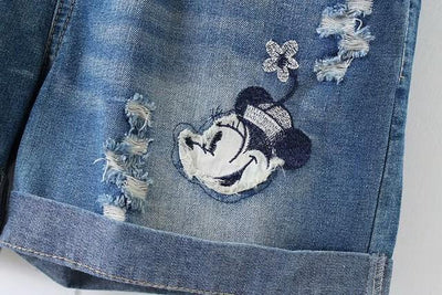 Minnie Lovely Ripped Shorts Pants 1928Mickey