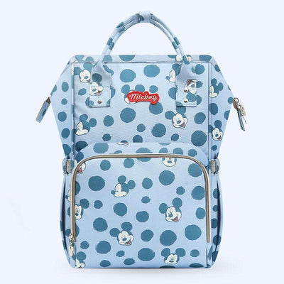 Mickey Multi-function large capacity Diaper bag Diaper Bag 1928Mickey Blue