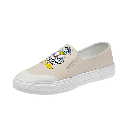 Donald Duck Summer Canvas Shoes 1928Mickey White 5.5