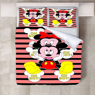 Mickey & Minnie Mouse Bedding Set-O Bedding Set 1928Mickey Twin F