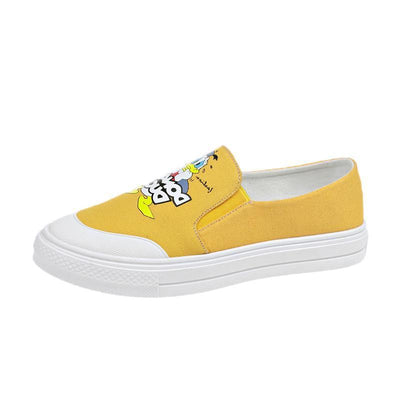 Donald Duck Summer Canvas Shoes 1928Mickey Yellow 5.5