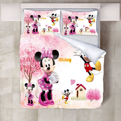 Mickey & Minnie Mouse Bedding Set-O Bedding Set 1928Mickey Twin G