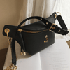 Mickey Leather Crossbody Bag * 2 Colors Option Crossbody Bag 1928Mickey Black