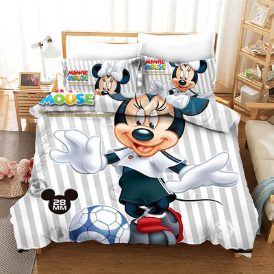 Mickey & Minnie Bedding Set 26 Accessories 1928Mickey Twin B