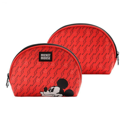Genuine Mickey Mouse Makeup-Bag, Storage Bag -Red 1928Mickey D(1pc)