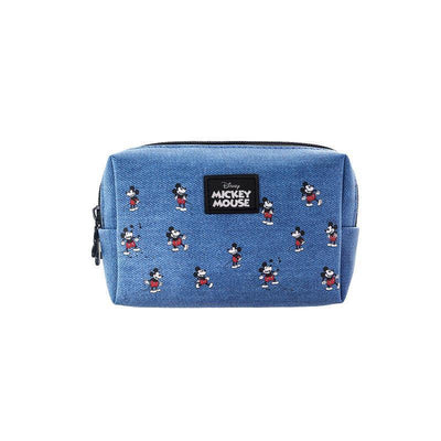 Genuine Mickey Mouse Makeup-Bag, Storage Bag -Blue 1928Mickey B(1pc)